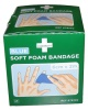 Bandage Soft Foam blue 6cm x 2m 2-pack